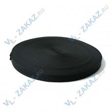 Лента монтажная текстильная Черная 100м