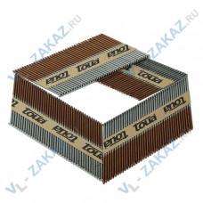 Гвозди по дереву на бумажной кассете (с кольцевой накаткой, галванизиронны) D34 2,87х63 (3000шт.)