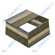 Гвозди по дереву на бумажной кассете (Гладкие) D34 3,05х75 (2000шт.)