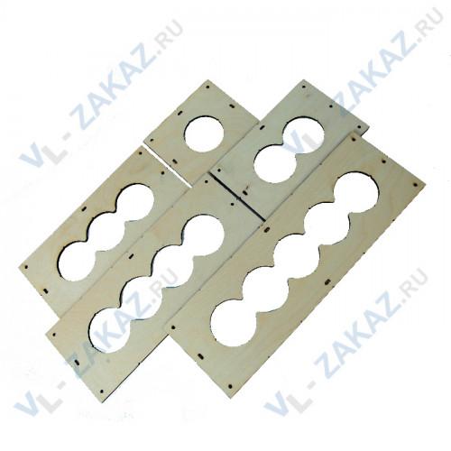 Комплект шаблонов для подрозетников диаметром 82 мм