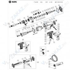 1. Вал М22 KEN6110B